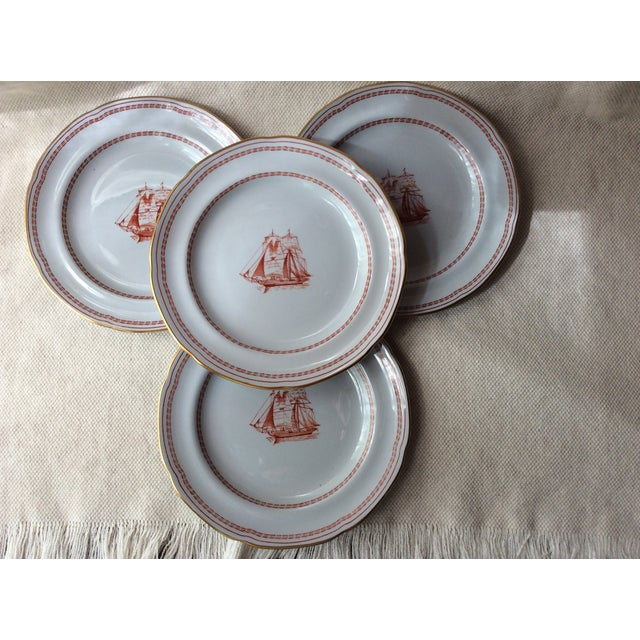Spode TradeWinds Pattern Coffee Cups, Saucers and Plates - Set of 12 For Sale - Image 9 of 11