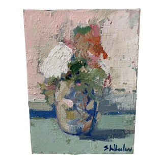 Mini Floral Oil Painting For Sale