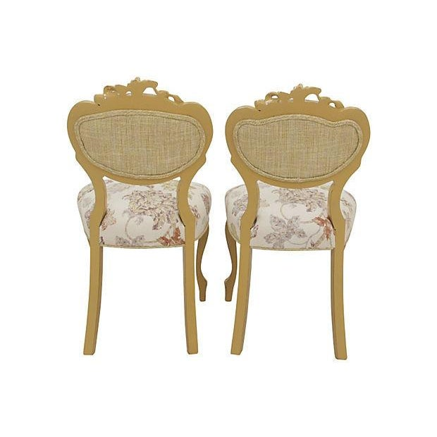 Victorian Balloon-Back Parlor Chairs - A Pair - Image 6 of 7