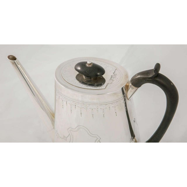 Silver Plate Coffee Pot For Sale - Image 6 of 9