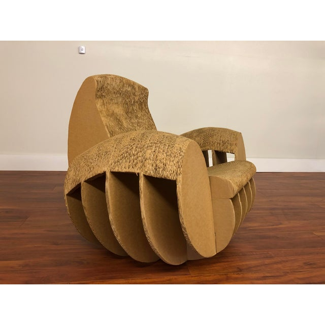 This chair is pretty amazing, it is constructed entirely out of cardboard, yet is strong, usable, interesting, and a...