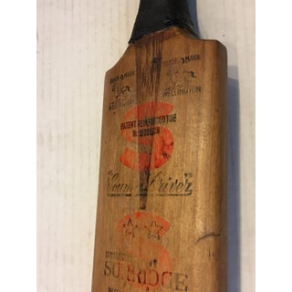 Vintage English Wellington Cricket Bat Sports Decor Preview