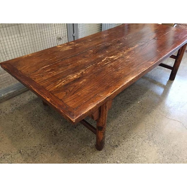 Antique Chinese Huanghuali Hardwood Table For Sale - Image 4 of 9