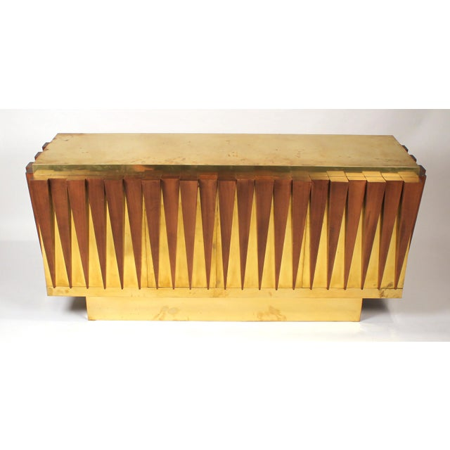 1970s Custom Paolo Buffa Attributed Credenza for Hotel in Italy For Sale - Image 4 of 10