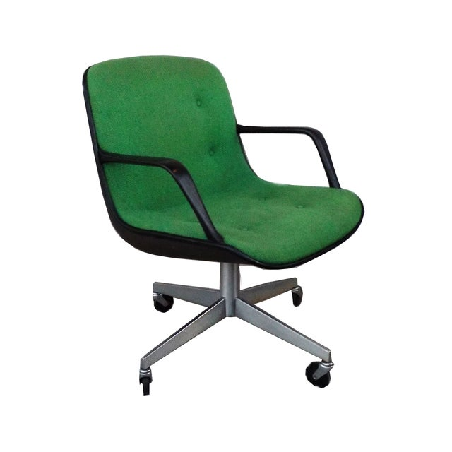Mid Century Modern Steelcase Vintage Green Office Chair Chairish