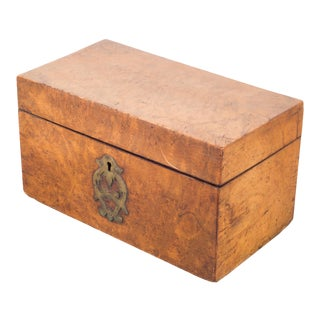 Early 19th C. Russian Tea Box C. 1820 For Sale