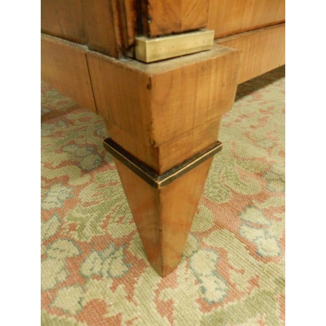 Early 19th Century Biedermeier Walnut Commode For Sale - Image 10 of 13