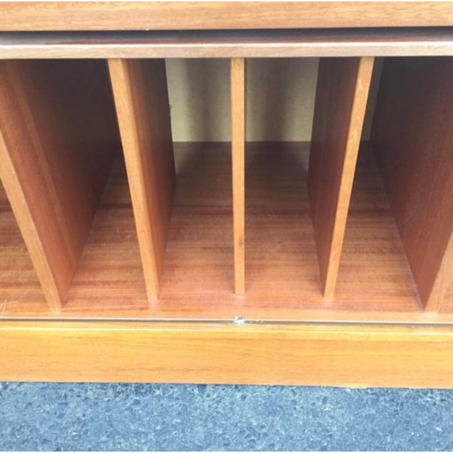 Mid-Century Modern Teak Credenza or Tv Console For Sale - Image 4 of 11