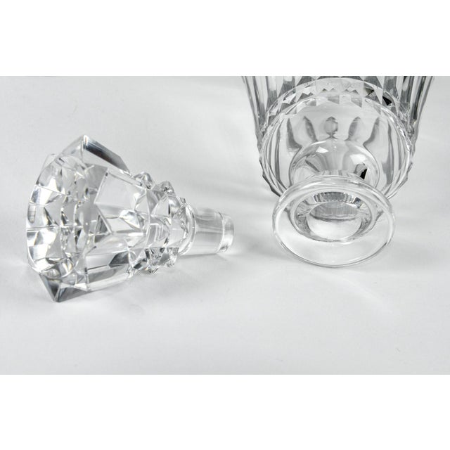 Mid 20th Century Vintage Baccarat Crystal Decanter & Glasses - Set of 8 For Sale - Image 5 of 7