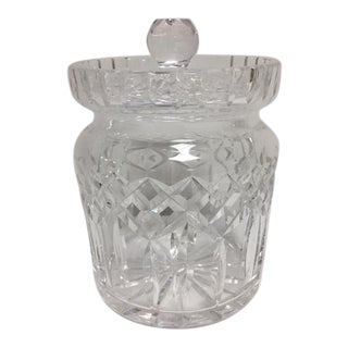 Waterford Lismore Crystal Biscuit/Candy Jar For Sale