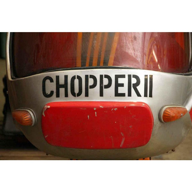 Chopper II Vintage Kiddy Ride - Image 4 of 10