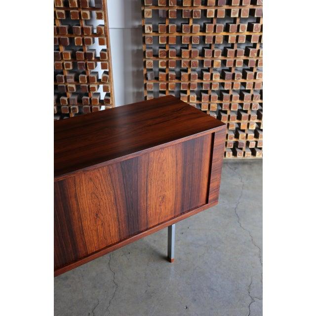 Hans Wegner Rosewood 'President' Cabinet, 1965 For Sale In Los Angeles - Image 6 of 13