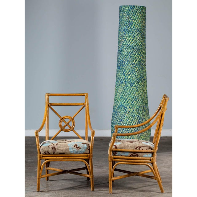 Bamboo 1970s Vintage McGuire Bamboo Target Design Chairs - a Pair For Sale - Image 7 of 13