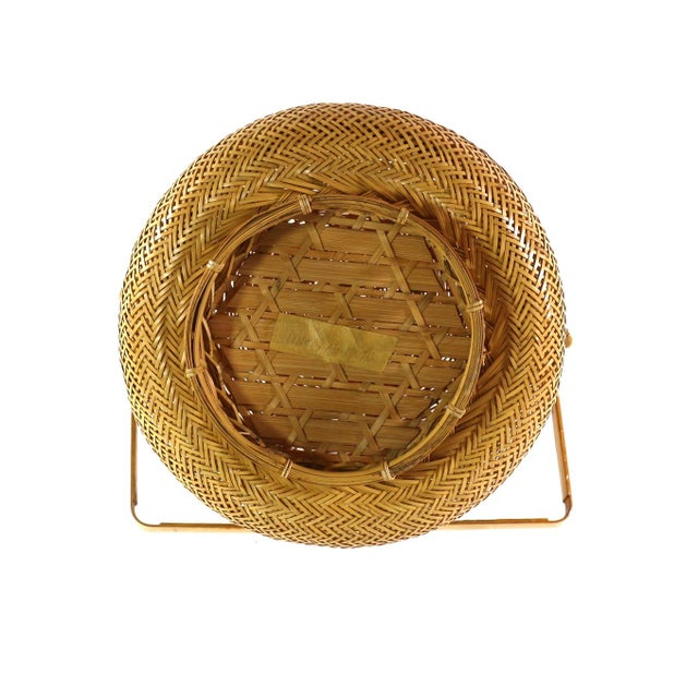 1930s Finely Woven Vintage Japanese Basket - Image 5 of 5