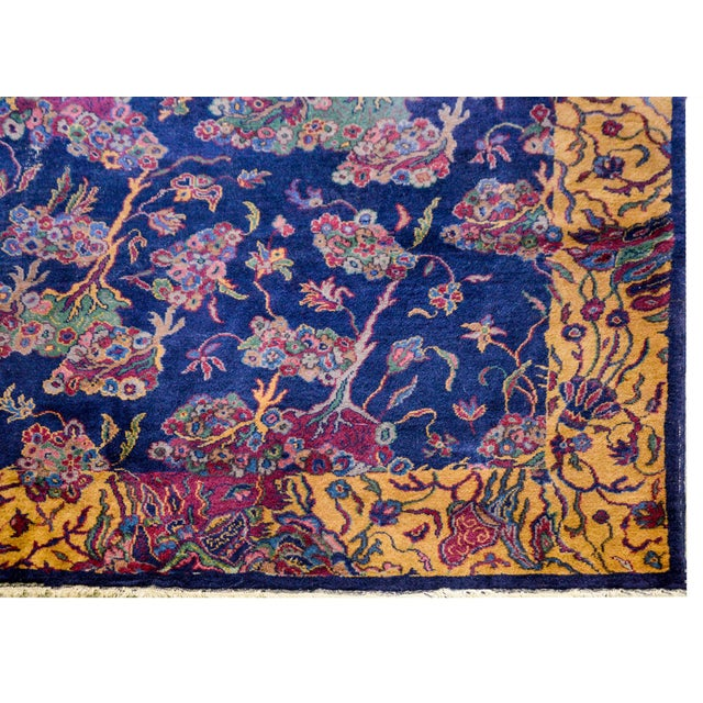"Textile Early 20th Century Sparta Rug-12'x15'6"" For Sale - Image 7 of 9"