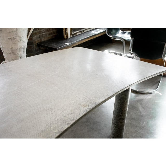 1980s Concrete Desk, Italy, 1980s For Sale - Image 5 of 10