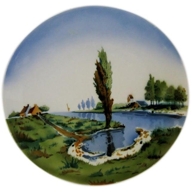 German Ceramic Wall Plate - Image 1 of 4