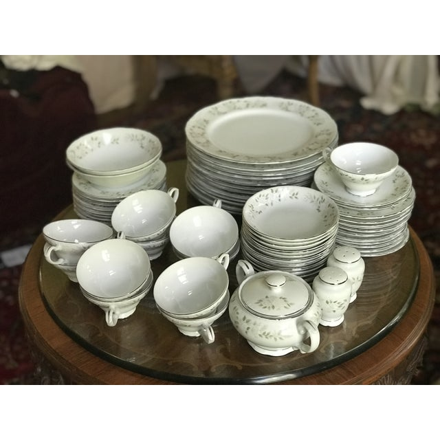 Classy ,Vintage Sheffield Fine China Classic 501 ,Reduced Set for 11 For Sale - Image 10 of 11