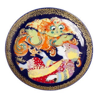 Rosenthal Plate, 1968 For Sale