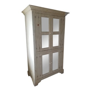 Vintage Mid-Century Classic Armoire For Sale
