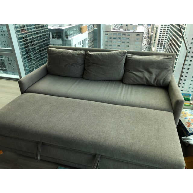 Crate & Barrel Modern Crate & Barrel Queen Sleeper Sofa For Sale - Image 4 of 6