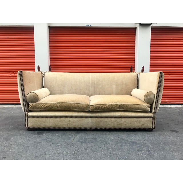 Fabric George Smith Tiplady Knole Sofa For Sale - Image 7 of 7