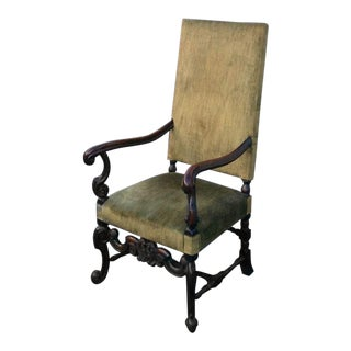 French Os De Mouton Armchair For Sale