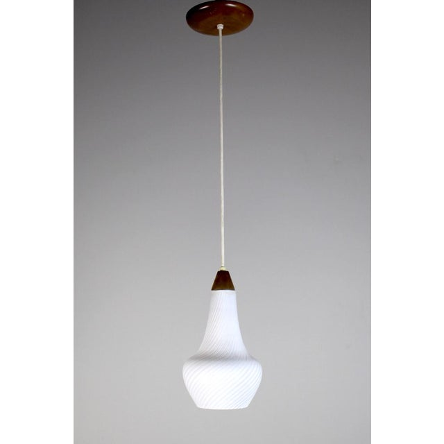 A Pair of Mid Century Pendant Lights - Image 3 of 8