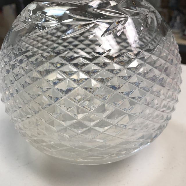 Waterford Crystal Vase For Sale - Image 4 of 7