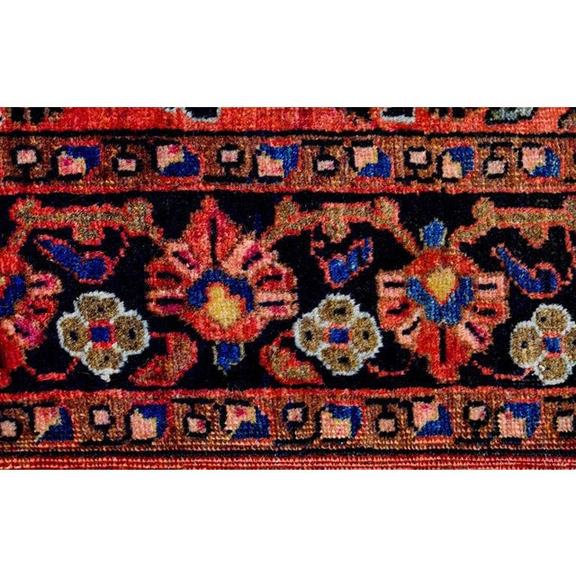 Exceptional Early 20th Century Petite Sarouk Rug - 2′2″ × 2′8″ - Image 3 of 5