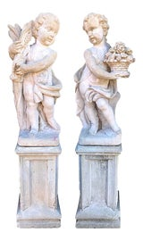 Image of Newly Made Outdoor Statues