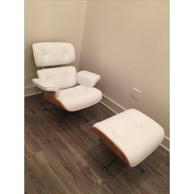 Ashwood Lounge Chair & Ottoman - Image 2 of 5