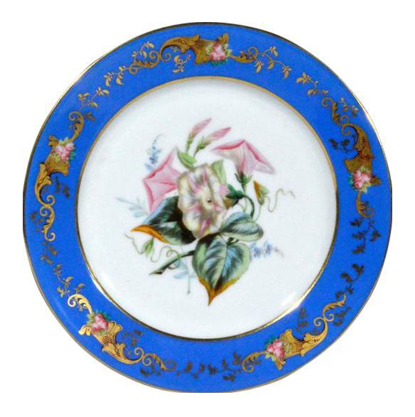 Paris Porcelain Botanical \u0026 Fruit-Decorated Plates - Set of Six  sc 1 st  Chairish & Paris Porcelain Botanical \u0026 Fruit-Decorated Plates - Set of Six ...