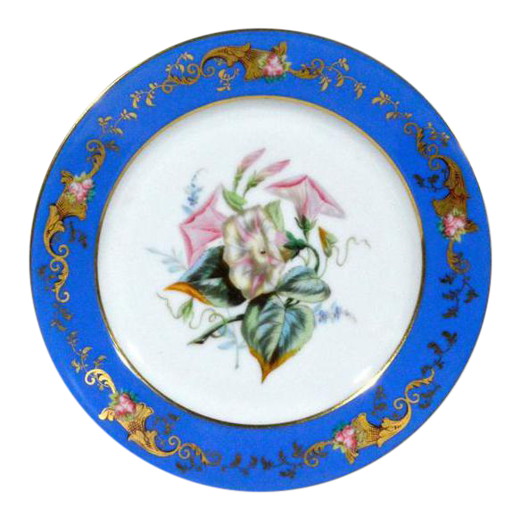 Paris Porcelain Botanical u0026 Fruit-Decorated Plates - Set of Six  sc 1 st  Chairish & Paris Porcelain Botanical u0026 Fruit-Decorated Plates - Set of Six ...