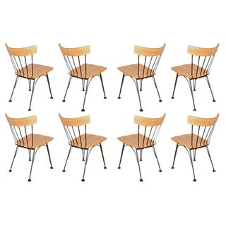 Lee L. Woodard Dining Chairs Circa 1952. For Sale