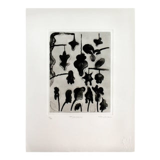 Unframed Lithograph Signed Gary Stephen Tjaden Numbered 13/48 For Sale