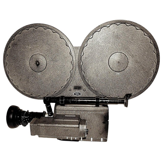 Auricon Cinema Newsreel Camera Complete and Working. Display As Sculpture. Circa 1955 For Sale