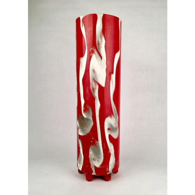 Repurposed Fire Extinguisher Vase - Image 2 of 4
