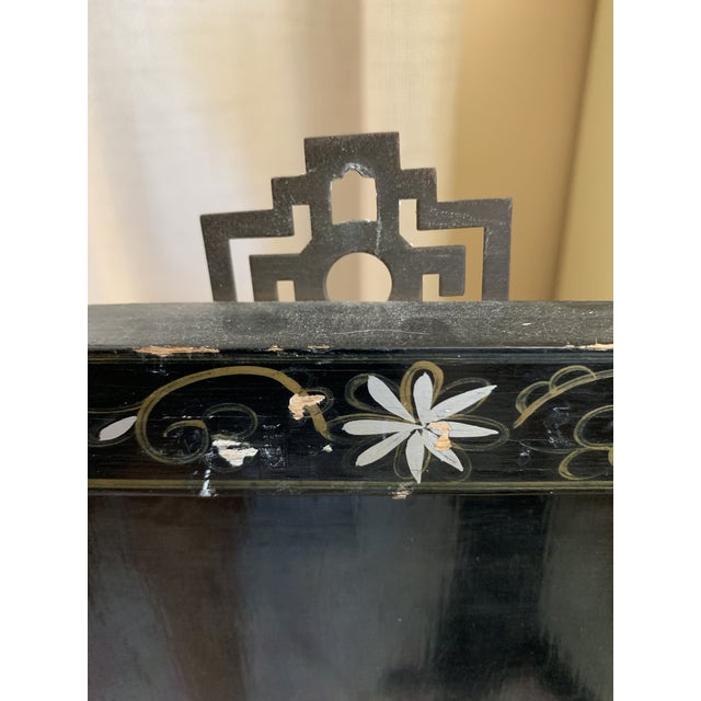 Midcentury Mother of Pearl Asian Chinoiserie Wall Accent For Sale In Los Angeles - Image 6 of 13