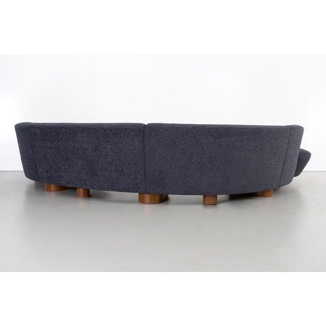 Directional Vladimir Kagan for Directional Cloud Sectional Sofa For Sale - Image 4 of 9