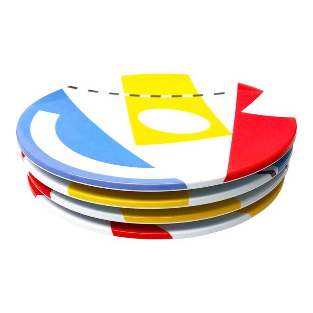Vintage Melamine Copco Plates - Set of 4 - Image 1 of 4