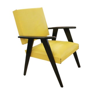 Mid-Century French Armchair For Sale