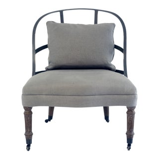 Restoration Hardware Couturier's Chair For Sale