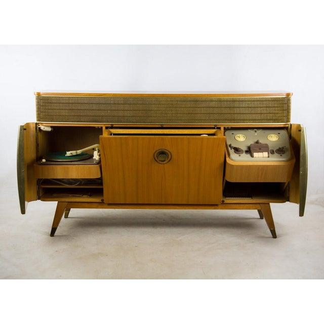 1950 s grundig majestic 9070 stereo console chairish