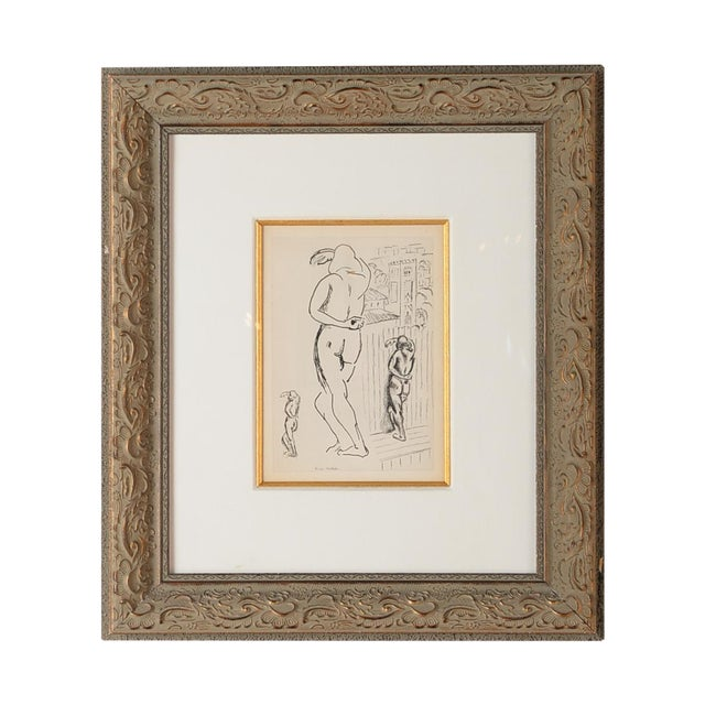 """Matisse """"Planche 2"""" Portrait of a Woman Lithograph - Image 1 of 10"""