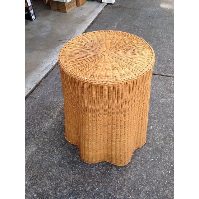 Soane Ripple Circular Rattan Table - Image 5 of 5