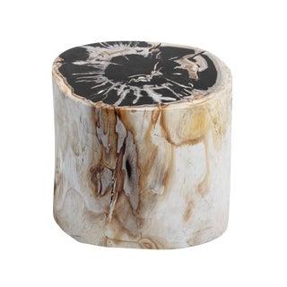 Petrified Wood Stool For Sale
