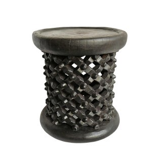 Bamileke Wood Stool For Sale