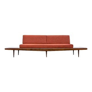 Mid-Century Modern Long Gondola Daybed Sofa For Sale