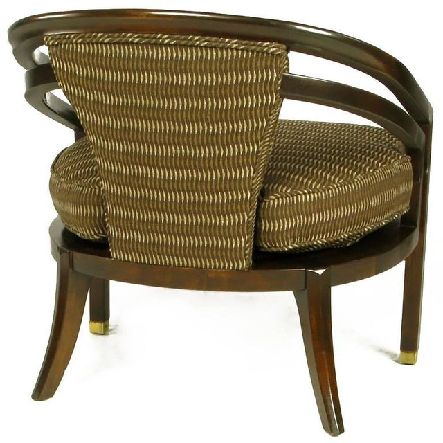 1960s Pair of Elegant 1960s Club Chairs by Century For Sale - Image 5 of 9